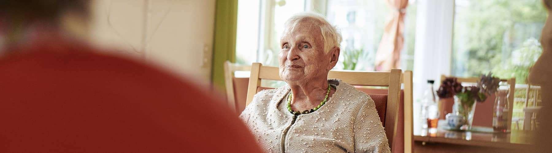 Unsere Wohngemeinschaften: selbständig leben trotz Pflegebedarf