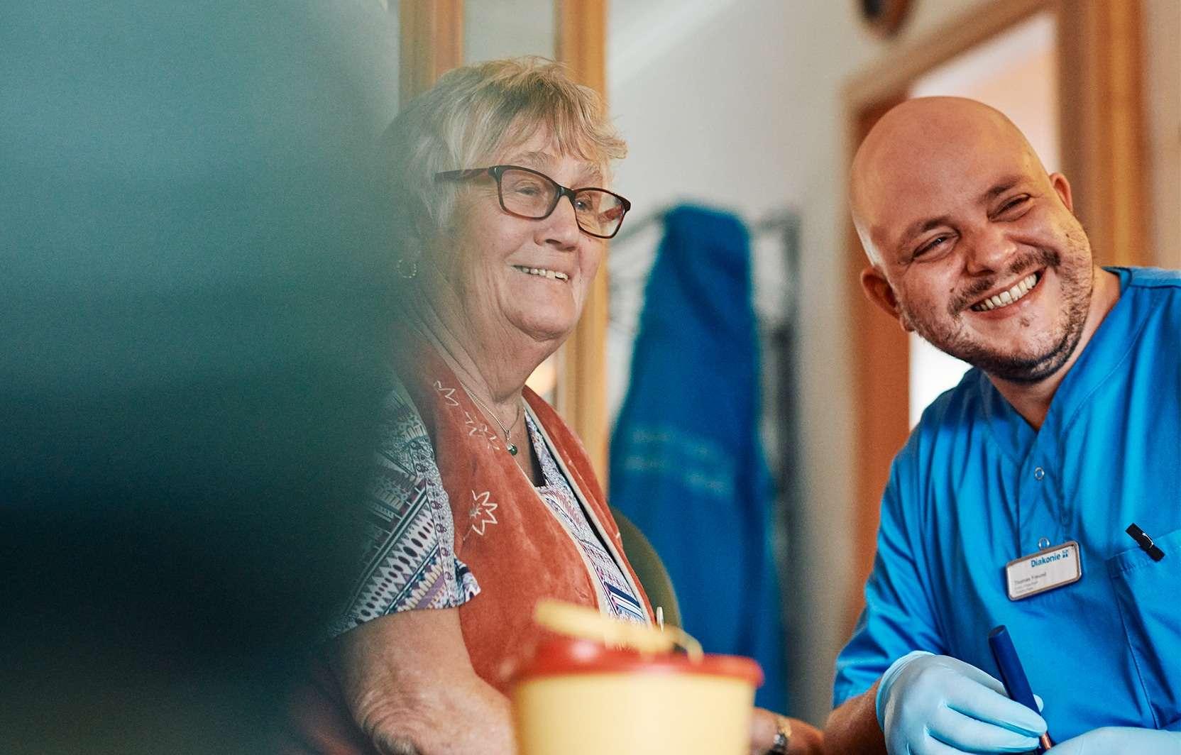 Das umfasst die häusliche Pflege: